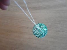String Ball Ornaments - Child Central Station