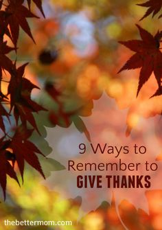 Ever feel plagued thank-you notes or (ahem) the lack of thank-you notes you've been writing? We've got you covered today with 9 Ways to Remember to Give Thanks to the people you love, no matter the form.