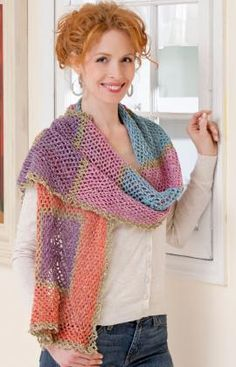 Crochet Pattern for Shawls and Wraps