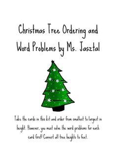{freebie} Christmas math packet:)