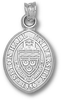 An http://www.GogelAutoSales.com RePin     Seton Hall Pirates Seal Pendant - Sterling Silver Jewelry     We'd Love you to Like us on FB! https://www.facebook.com/GogelAuto  Since 1962, Rt. 10, East Hanover