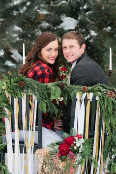 Christmas woodland inspiration // photo by Callie Hobbs Photography // http://ruffledblog.com/christmas-woodland-inspiration