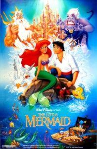 The Little Mermaid #movies film, favorit disney, disney movies, walt disney, disney princesses, disney posters, the little mermaid, kids