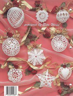 Christmas Romance Ornaments Crochet Patterns