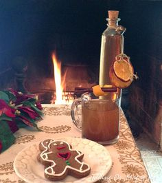 Mulling Syrup ~ A Perfect Christmas Gift via Taking On Magazines