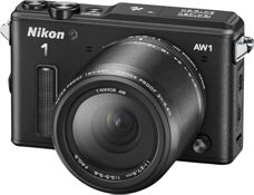 Nikon AW1 is a compact waterproof camera with changeable lenses - perfect for the adventurous traveller who wants to travel light