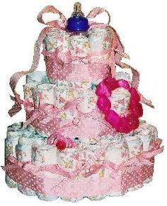 ... make a diaper cake
