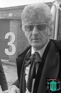 Jon Pertwee as the third doctor. 3 Days to go till the Day of the Doctor!