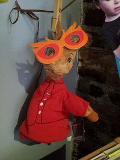 Arlo's glasses make the rounds at the WORD bookstore in Greenpoint, Brooklyn. #cute #glasses