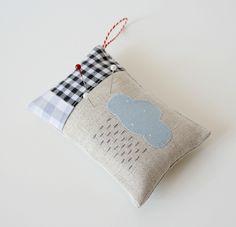 """#Sew Cute! Get it, """"sew"""" as in """"so"""" cause it's a pin cushion. Yes, I'm a dork! :D"""