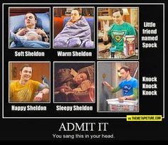 Soft Sheldon, warm Sheldon