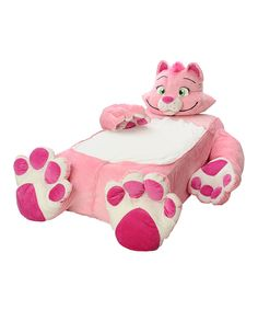 Pink Petunia Kitty Twin Bed Cover