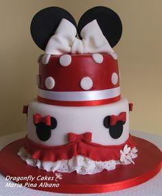 Mnnie cake - Minnie cake