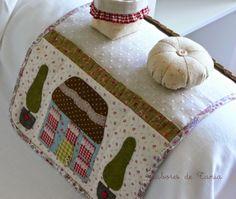 Para coser en el sofá