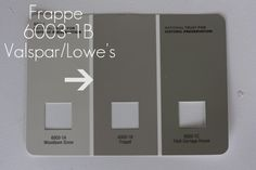 Greige paint color at lowes....thinking about this color for downstairs!!!