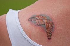 tattoo idea, labyrinth, owl tattoos, barn owls