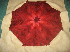 fold flower, fold dahlia, dahlia quilt, quilt blocks, flower tutorial, quilt tutorials, flower patterns, dahlia tutori