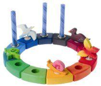 Waldorf Rainbow Birthday Ring