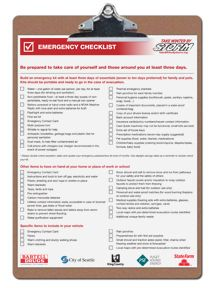 Winter Weather Preparedness Tips and Resources for Wester Washington. Also...emergency checklists, printable contact cards, etc.