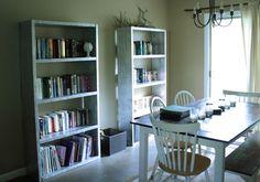 IKEA Lack Inspired Bookcase