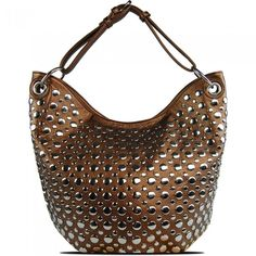 Susan Nichole Vegan Handbag Bella in Bronze
