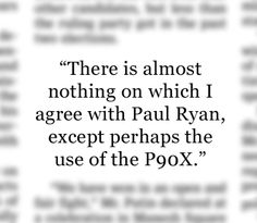 """- Dee Snider, singer and songwriter from the group Twisted Sister, in a statement posted on DeeSnider.com, referring to a workout program. Mr. Snider wants the vice-presidential hopeful, Paul Ryan, to stop playing his 1984 hit song """"We're Not Gonna Take It"""" before appearances. http://on.wsj.com/SrJzbQ (Aug. 23, 2012)."""