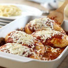 Quick Chicken Parmesan