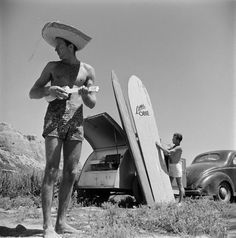 Photos from a golden era of surfing