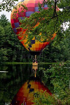 Hot Air Balloon Festival, Pittsfield, NH