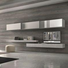 Inspiratie voor je tv meubel on pinterest 45 pins for Tv meubel kleine ruimte