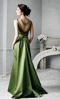 #robe verte - green dress  green dresses #2dayslook #green style #greenfashion  www.2dayslook.com