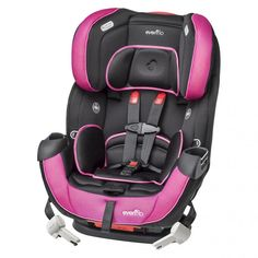 Awesome new line of Evenflo ProComfort car seats - gel pads actually keep kids comfier, longer. (Yay for less fussing in the back!)