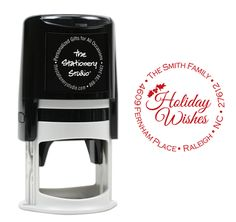 Holiday Wishes Self-Inking Stamper