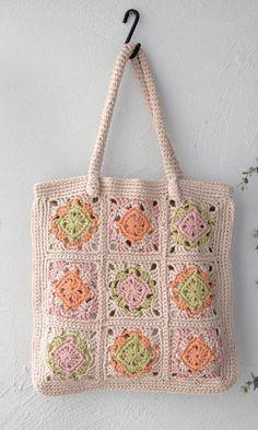 Bag... free pattern - http://www.gosyo.co.jp/img/acrobat/amicomo6/amicomo6-5.pdf