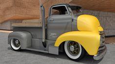 COE chevy truck