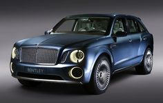 "Bentley ""EXP 9F"", concept luxury SUV unveiled at Beijing Motor Show 2012.  6-Liter, twin-turbo."