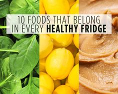 10 Foods That Belong