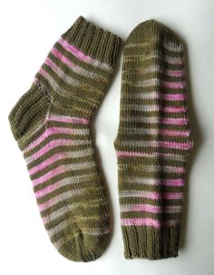 Hand Knit Striped Wool Socks | Flickr - Photo Sharing!