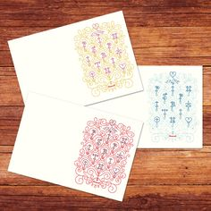 """""""You're My Pinspiration"""" Notecards by Jessica Hische"""