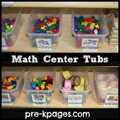 math center preschool, pre-k teacher, preschool math center, preschool center idea, preschool classroom centers, prek teacher, math centers preschool