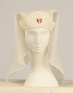 1918 cap and veil from nurse uniform.