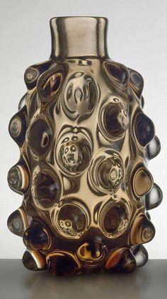Carlo Scarpa; Glass Vase for Venini ,1940.