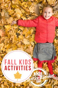 12 Fall Activities to Welcome the Season! - Kids Activities Blog