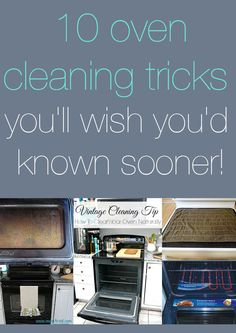 10 oven cleaning tricks you'll wish you'd known sooner!