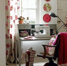 Inspirational Sewing Spaces