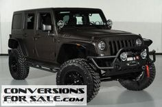 2014 Jeep Wrangler Unlimited Kevlar Coated Lifted Jeep