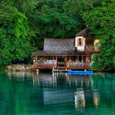a hotel in Jamaica.