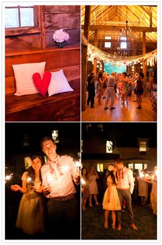Cheerful Barn Wedding