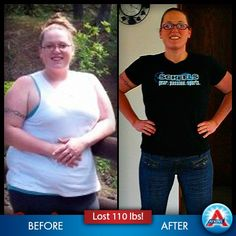 Gloria Frelk never used to have enough energy to play with her children, but look at her now... 8 months later and 110 pounds lighter! See her story here: http://www.atkins.com/Program/Success-Stories/Gloria-Frelk.aspx