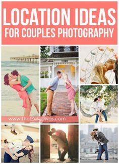 Great ideas for how to use the photo shoot location to personalize your pictures!